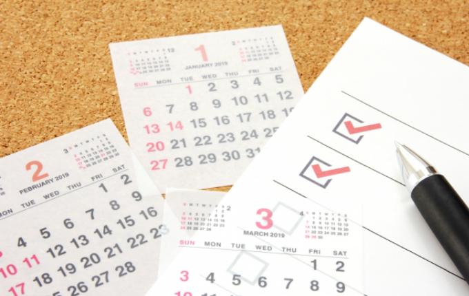 家庭教師と共に考える一年の学習計画